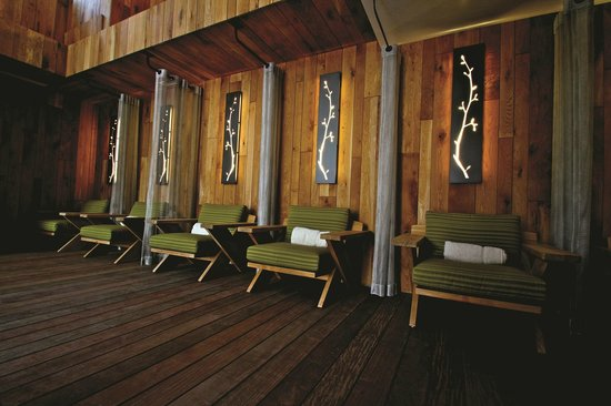 The Cove, an Authentic McCall Spa: Relax before or after treatments