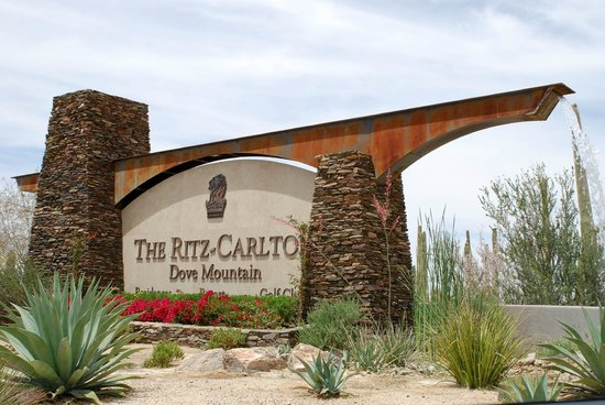 The Ritz-Carlton, Dove Mountain: Entrance