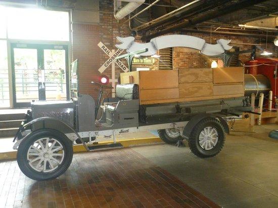 Underground Atlanta : old model vehicle