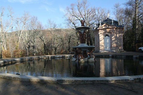 Palacio Real de la Granja: jardin1