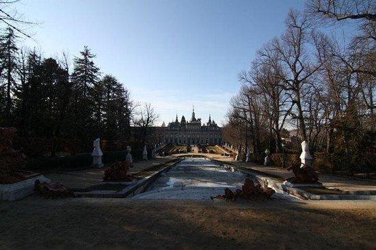 Palacio Real de la Granja: jardin5