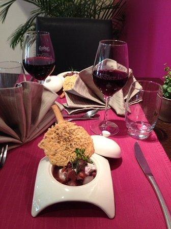 Gourmandy's : Œufs Meurette à la Mondeuse de Savoie revisités par le Chef