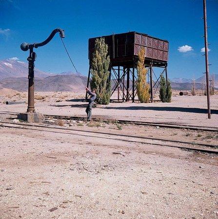 Volcan Llullaillaco: Socompa - ein trostloser Ex-Bahnhof á la Wildwest