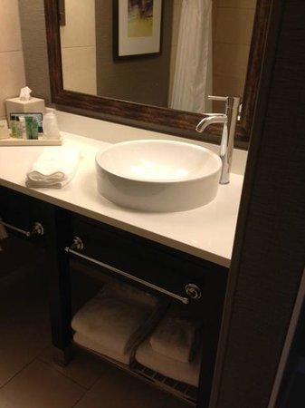 Hilton Harrisburg: Bathroom