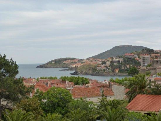 Villa Miranda: Vue depuis le balcon de la chambre