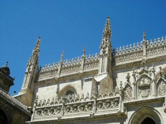Catedral y Capilla Real: roof detail