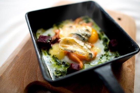 Roadford House Restaurant & Accommodation: Gourmet breakfast