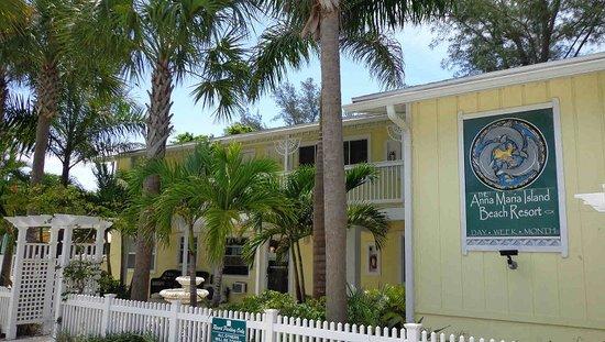 Anna Maria Island Beach Resort: sign at Ami