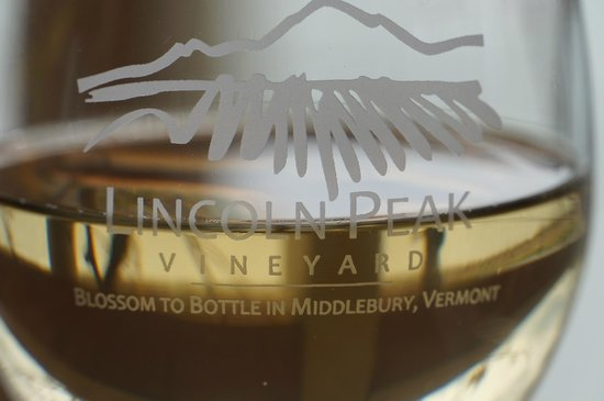 Lincoln Peak Vineyard: Great white wine