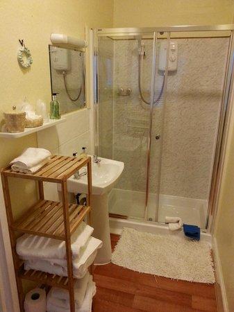 St Ann's House : Baño de la habitación triple