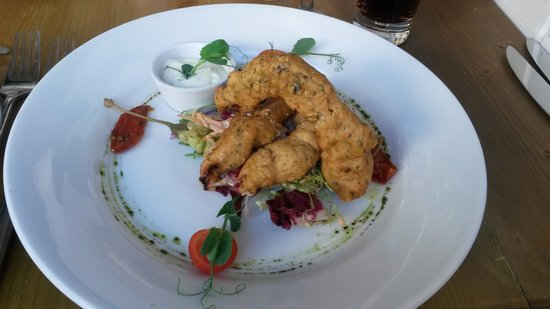 Seven Angels: Tempura Chicken Starter