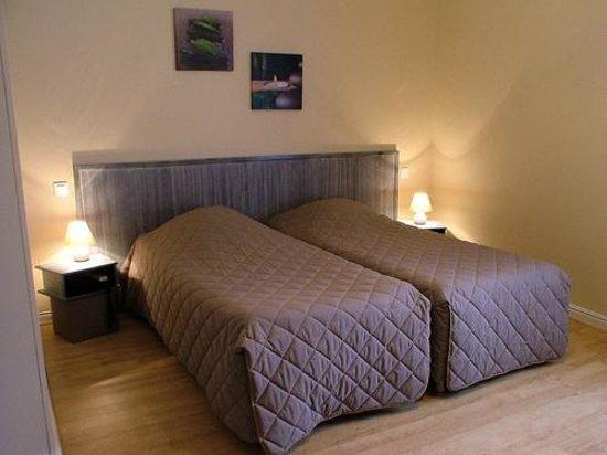 Hostellerie Le Clos du Cher : Chambre 2 lits
