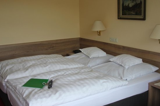 Baudobriga Rheinhotel: Comfortable beds and great duvets