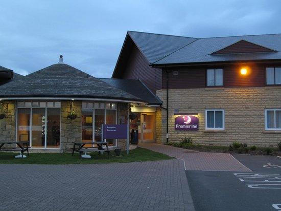 Premier Inn Ashington Hotel: Premier Inn Ashington: main entrance