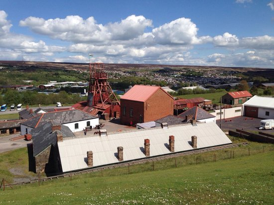 Big Pit:  National Coal Museum: Big pit