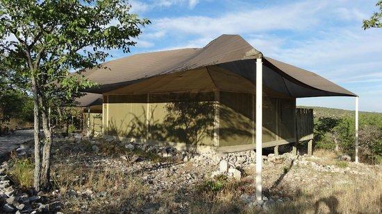 Eagle Tented Lodge & Spa: Notre tente