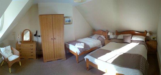 Ashgrove Bed & Breakfast: Habitación triple