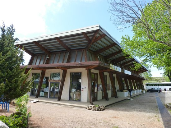 Aven Armand : Somewhat dated 1960's style Visitor Centre