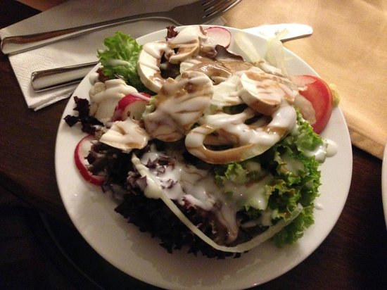 Severus Stube: Great salad - large enough for two to share