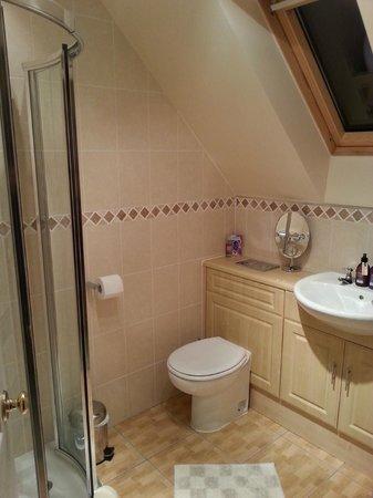 Ardarroch Cottage B&B: Baño habitación triple