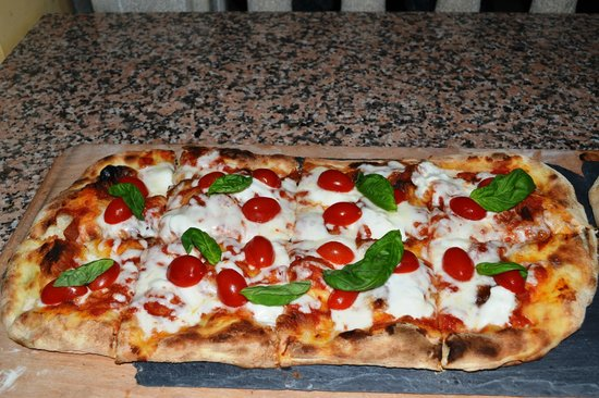 Pizzeria Fata Morgana: Caprese Scrocchiarella