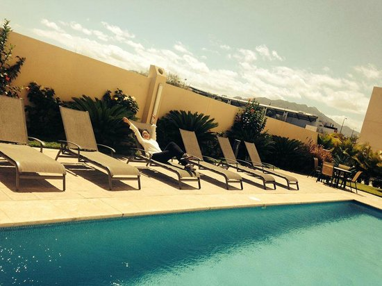 Hotel Aeropuerto Los Cabos : She LOVED staying with us before she went to LA VENTANA BAY