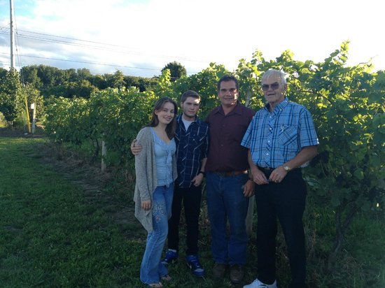 Long Cliff Vineyard & Winery: The DeMaison Family