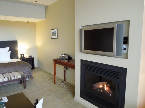 Select Braemar Lodge & Spa : Fireplace