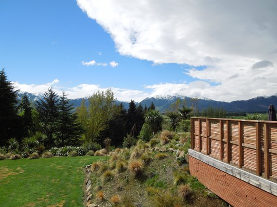 Select Braemar Lodge & Spa : a veiw from the balcony
