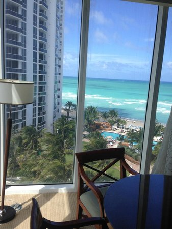Trump International Beach Resort: view from our suite