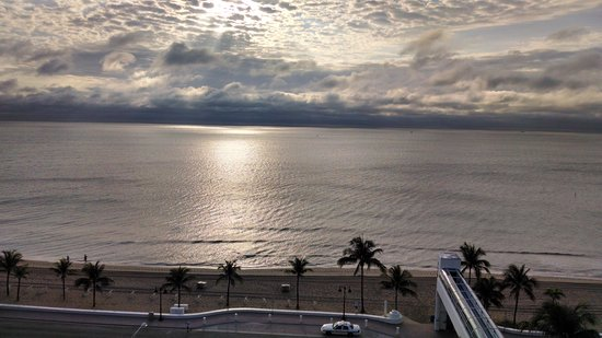 The Westin Fort Lauderdale Beach Resort: View from our room