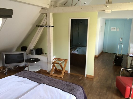 Hotel Seehof: Junior Suite - size of room