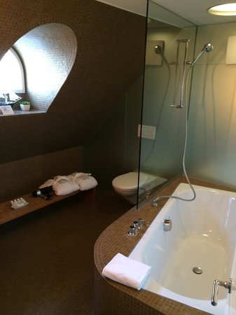 Hotel Seehof: Junior Suite - Bathroom