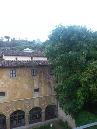 Hotel Restaurant  La Scaletta: vue de la chambre