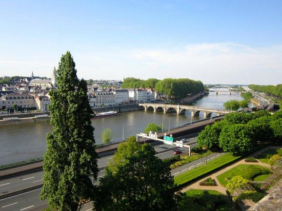Château d'Angers : amazing views....