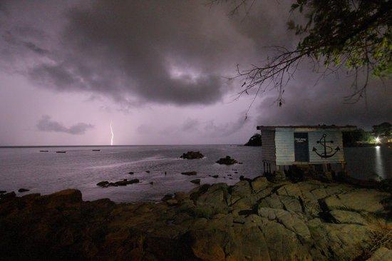 Big Blue Backpackers: amazing lightning storm