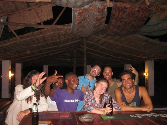 Big Blue Backpackers: after a night in Nkhata bay clubs
