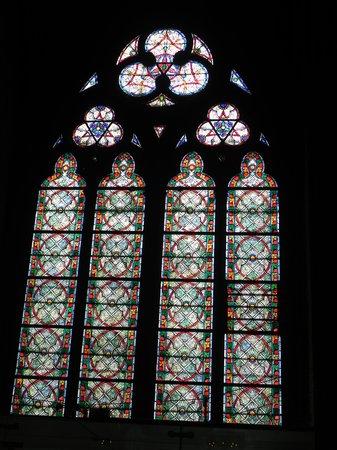 Cathédrale Notre-Dame de Paris : Vitrais