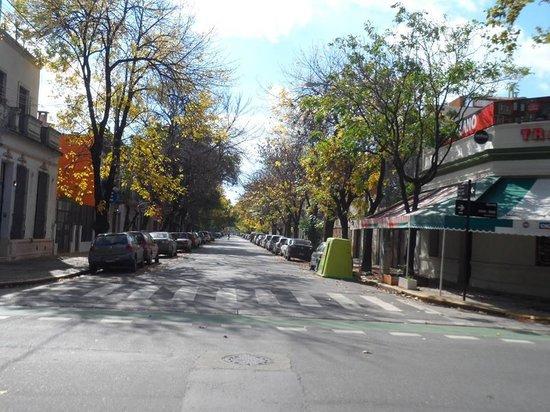 Meridiano Hostel : Rua de Buenos Aires