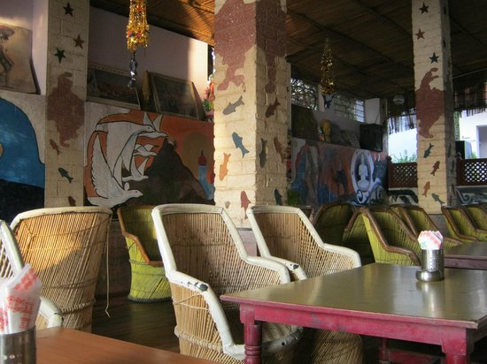 Sunset cafe-Indoors