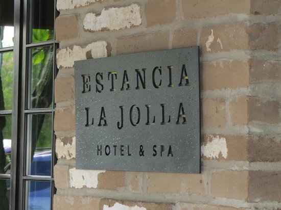 Estancia La Jolla Hotel & Spa : Entrance