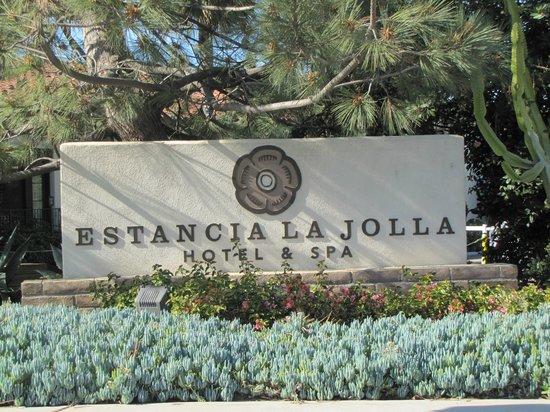 Estancia La Jolla Hotel & Spa : Entrance