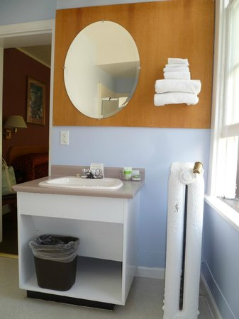 James Bay Inn Hotel, Suites & Cottage : Nice bathroom w/shower