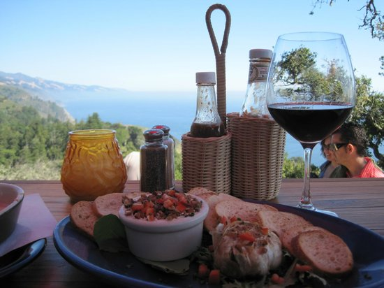 Nepenthe: Savory fare wtih a world class view