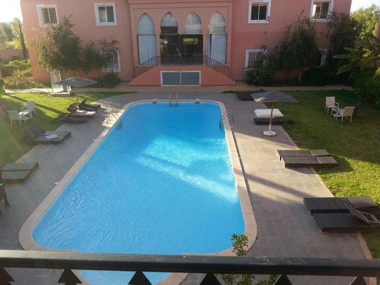 Vatel Hotel Golf & Spa : vue de la terrasse de la chambre