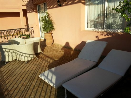 Vatel Hotel Golf & Spa : terrasse