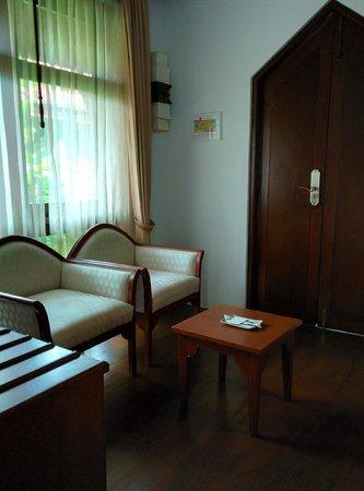 Samui Buri Beach Resort : Eingangsbereich Villa