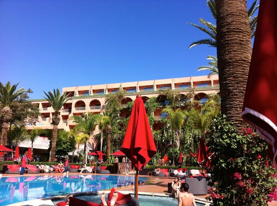 Sofitel Marrakech Lounge and Spa: espace piscine