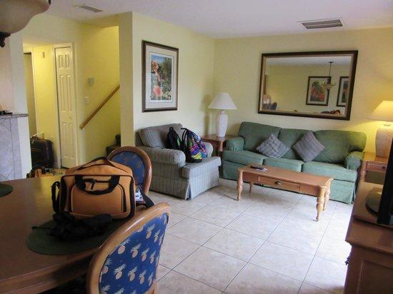 Fantasy World Club Villas: Living Area