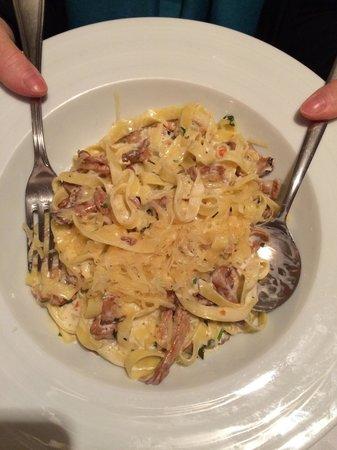 Princessa Gresa Restaurant: Chanterelles and tagliatelle